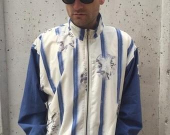 Vintage Adidas Jacket/Track top Size M 90'S (264)