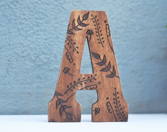 Letter Prop/Wall/Shelf Art