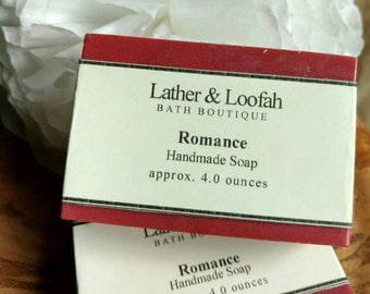 Romance- Mango and Shea Butter Soap