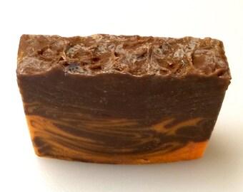 SALE - FREE SHIPPING - Orange Clove Soap - Cold Process Soap