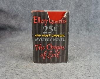 The Origin Of Evil By Ellery Queen C. 1951.