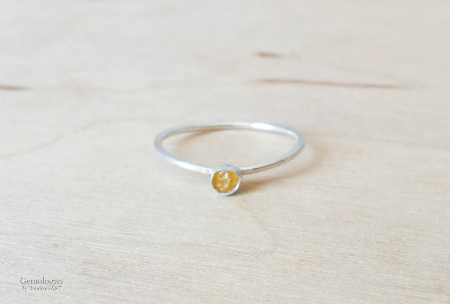 Raw Crystal Ring for W...