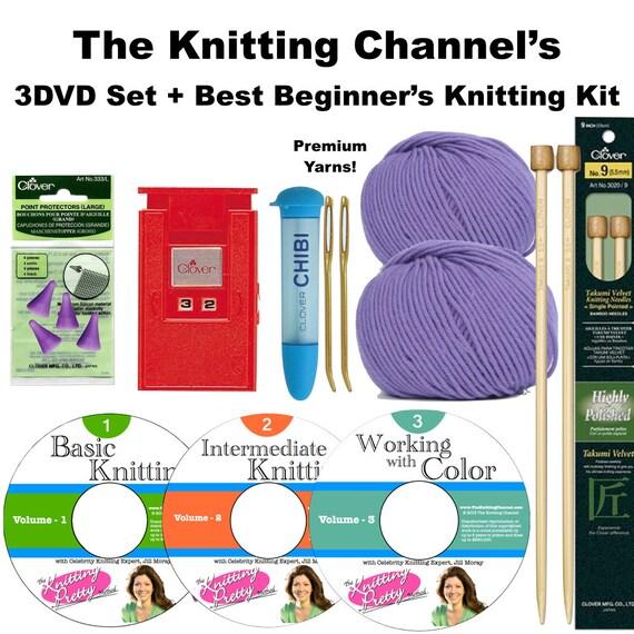Knitting Kit For Beginners Walmart : The best beginner s knitting kit with pretty™