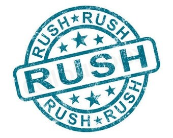 Convenience Fee for Rush Orders