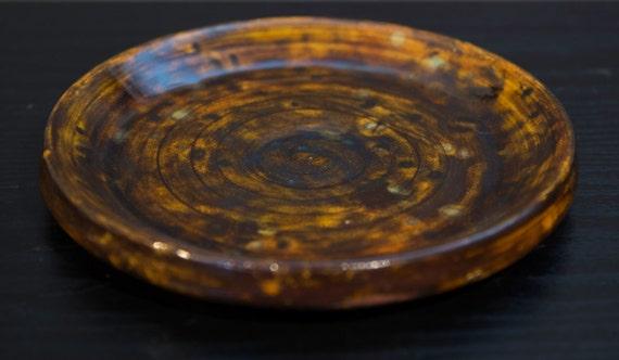 Hand Thrown Ceramic Plate