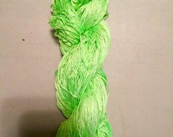 Stranded Silk ~ Key Lime Pie
