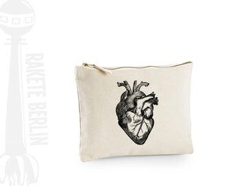 case, little bag medium  'anatomical heart'
