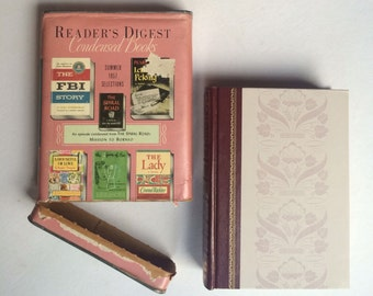 Vintage 1957 Reader's Digest Condensed Books - Summer 1957 Selections - Hardcover - New Condition With Original Mailing Box