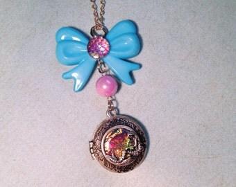 Beaytiful Little Mermaid Locket Necklace