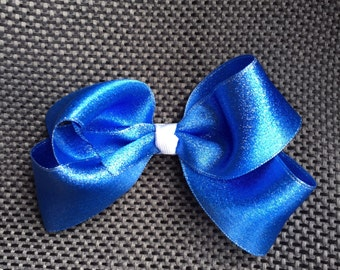 USA Hairbow, American, Pony tail, sparkle, red white & blue