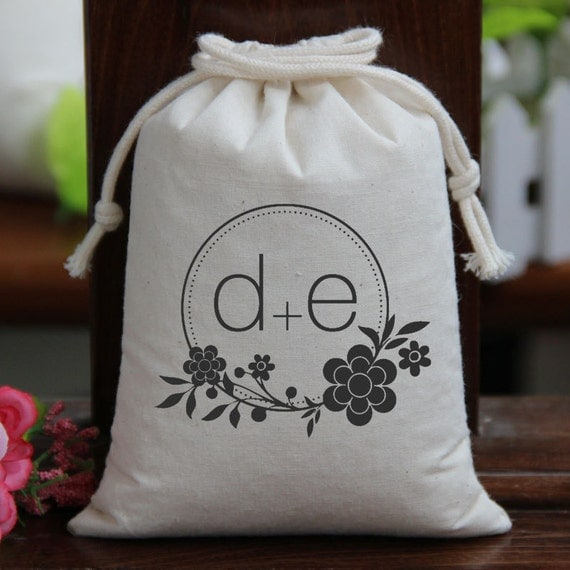 Items Similar To Wedding Candy Bags Monogram Candy Buffet Bags Candy Bar Bags Favor Bags