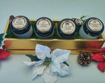 Whipped Body Butter Gift Set, Organic Body Butter, Natural Body Butter, Vegan Body Butter, Lush Type Body Butter