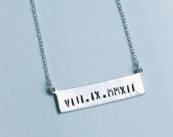The Penelope Necklace in Silver