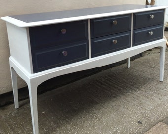 Shabby chic dresser, sideboard, drawersVintage, painted