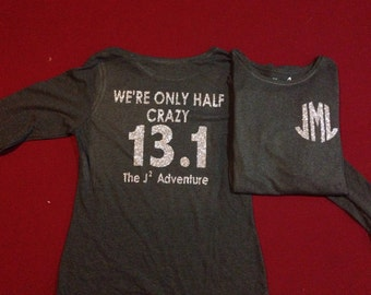 Customized running shirt