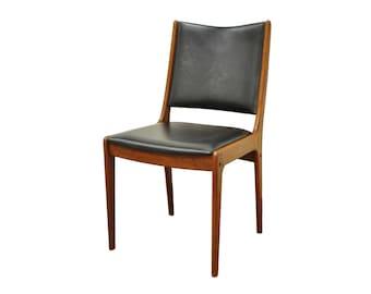 Vintage Johannes Andersen Uldum Mobler Mid Century Danish Modern Teak Side Chair