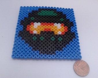 Master Chief Halo Hama Bead Pixel Coaster