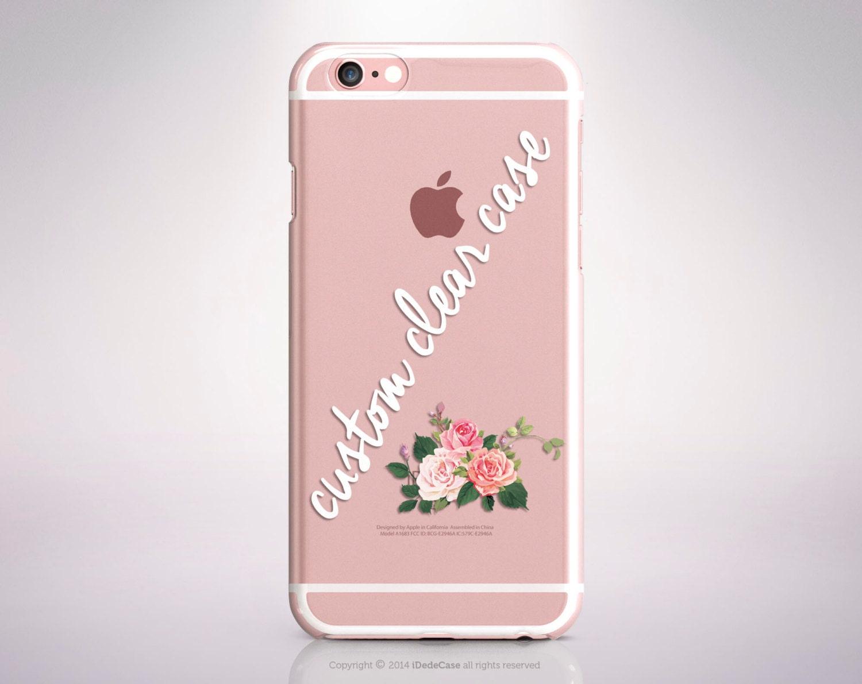 Custom Iphone 7 Case Clear Iphone 7 Plus Case Clear Custom Iphone 6
