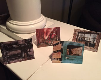 Vintage Notecards-Set of 8