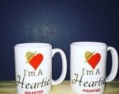 I'm a Heartie mug|gift coffee mug|coffee mug|hearties|#hearties