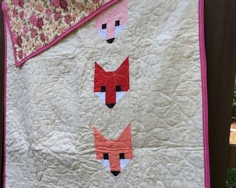 Hello, Pink Fox Quilt