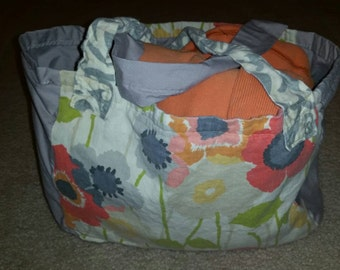 Bag, tote, sack, beach, purse