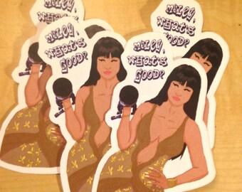 "Nicki Minaj ""Miley What's Good"" - Sticker (ct. 1)"
