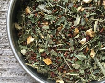 Red Lemon Herbal Tea