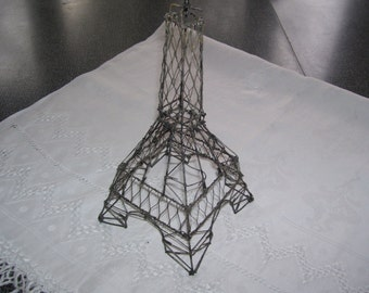 Wire Eiffel Tower Vintage