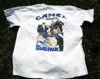 1991 camel hard pack white t shirt like new