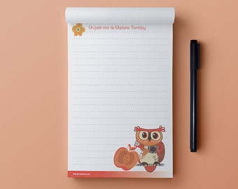 Notepad -The Friendly Owl