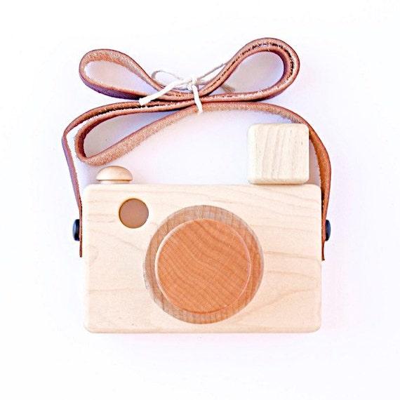 Flash Zoom Mali Wooden Toy Camera by littlemissworkbench on Etsy