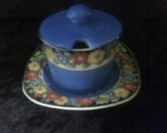 Vintage Hampton Ivory Swinnertons England sugarpot / jam pot