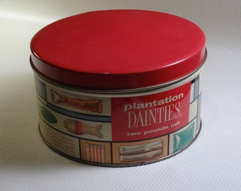 Plantation Dainties Candy Tin