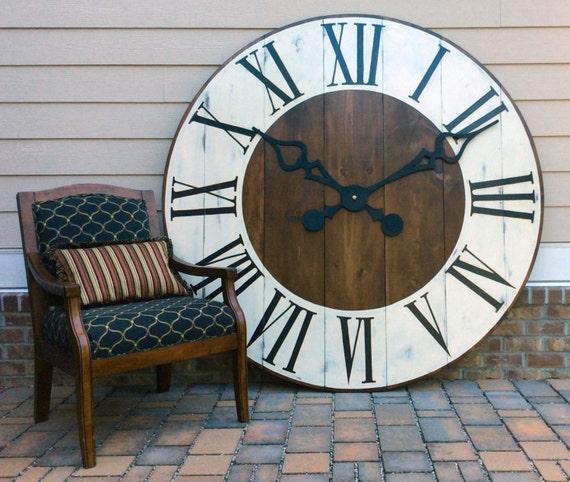 Oversized Decorative Clock Giant Wall Clock Big clock