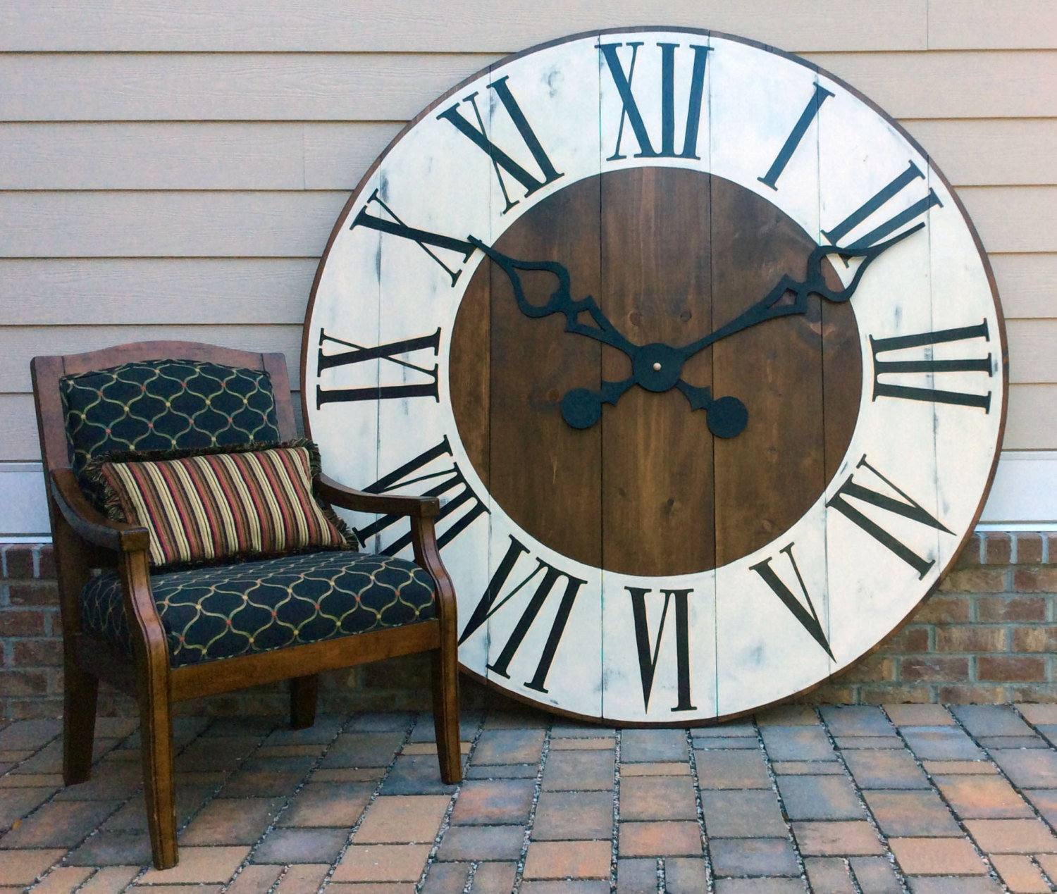 Oversized Wall Clock Giant Wall Clock Large Wall Clock