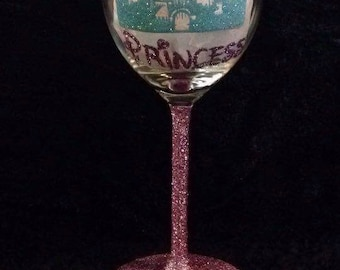 Princess castle glass