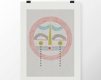 """A2 Giclee Print """"SAD PLATE"""" By Celeste Potter"""