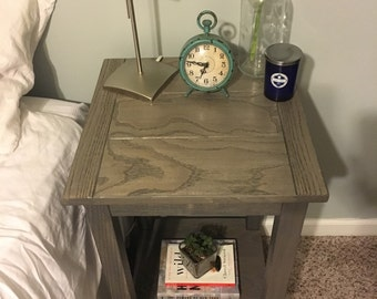 Farmhouse Nightstand/Side Table