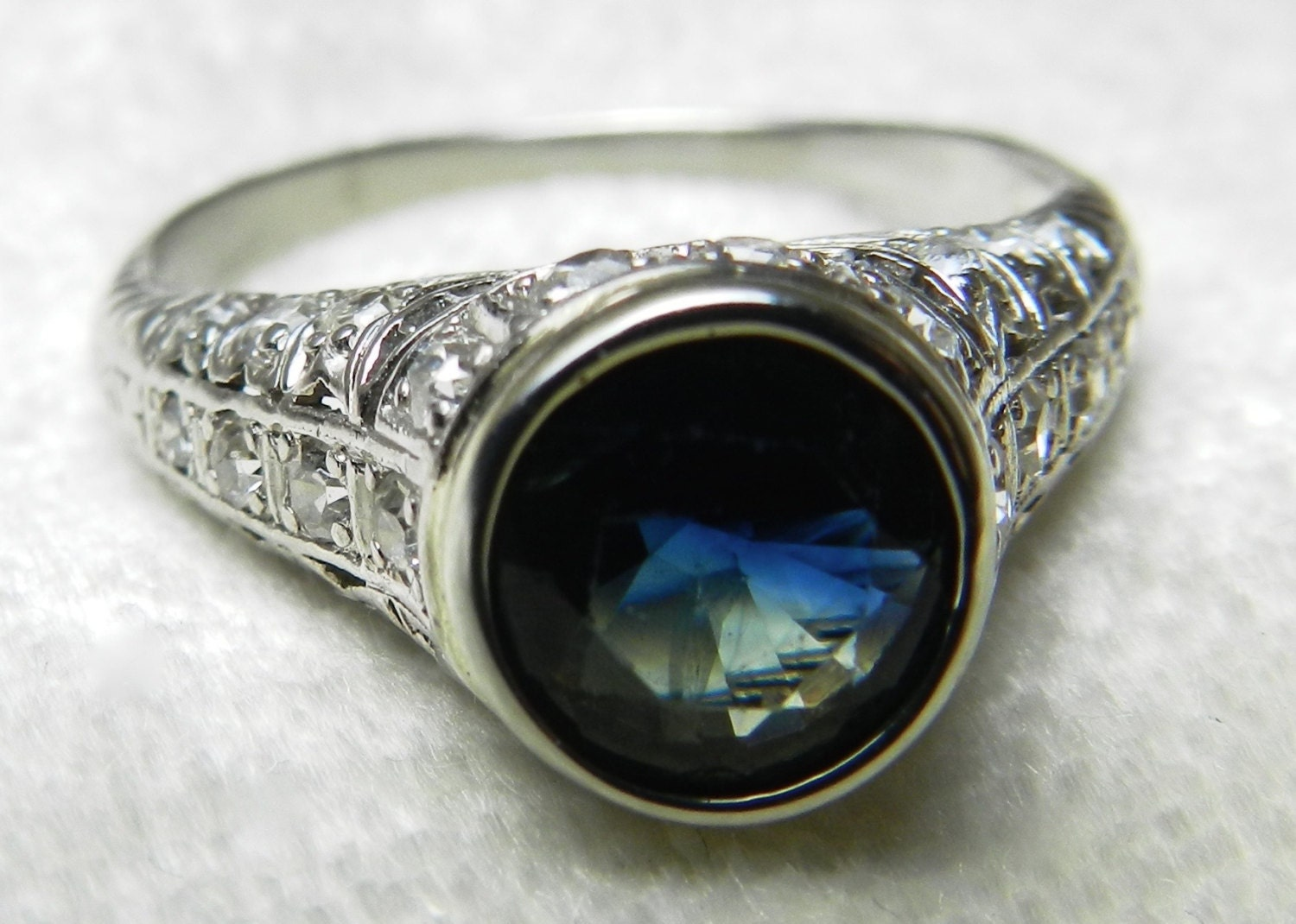 1920 s engagement ring deco ring 1 5ct
