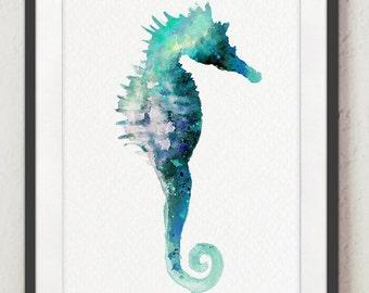 Seahorse Wall Decor Etsy