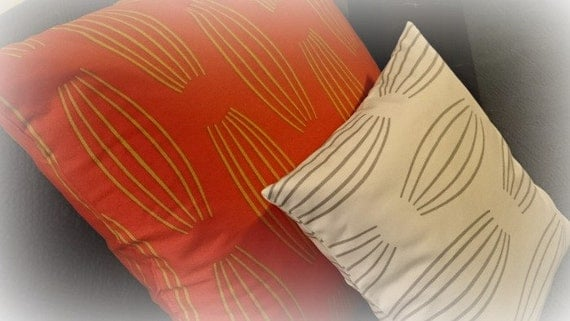 Parson Gray Modern Cotton Sateen Pillow Covers in Cocoon Pattern Throw Pillows Pillow Shams