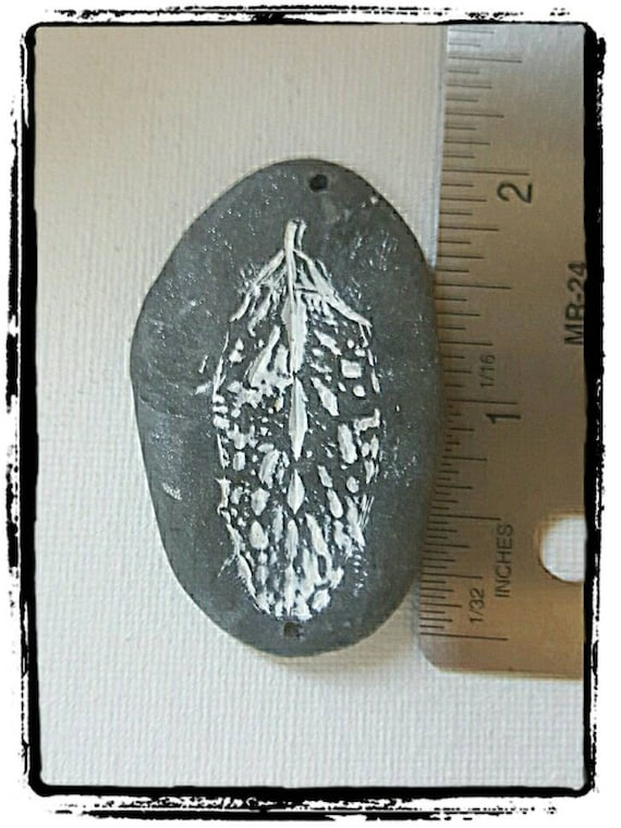 Faux Fossil Stone Gray Stone Bead Out Of Time Designs