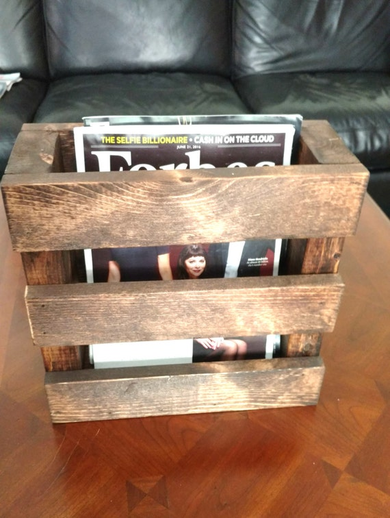 rustic home decor magazines wood magazine rack home decor wood menu holder rustic rack 11733