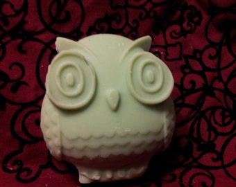 Handcrafted Soleseife Owl Soap Sea Salt Brine Soap Spearmint Citrus Sandalwood Cranberry Fig