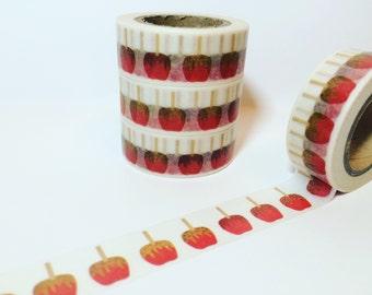 25% OFF Fall and Halloween, Caramel Apples, Harvest Festivle, Washi Tape