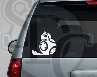 BB-8 Droid Star Wars inspired Car, Laptop, or Wall Decal