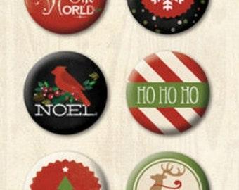 Christmas Embellishment Christmas Pins Flair Pins Christmas Gift Wrap DIY Christmas Crafting Metal Embellishment Pin Stocking Stuffer