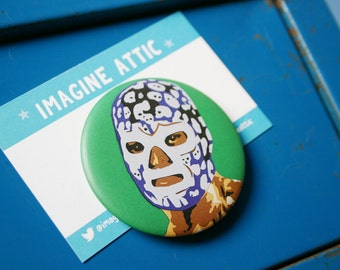 Unavailable listing on etsy - Mexican wrestler bottle opener ...