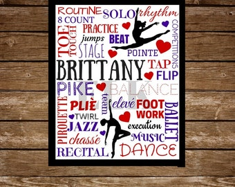 Dance Customized Sign